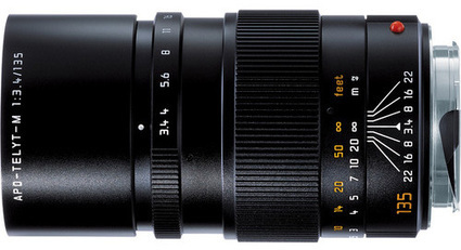 Leica APO-TELYT-M 135mm f/3.4 lens gets 6-bit coding | Leica ... | PHOTO Service | Scoop.it