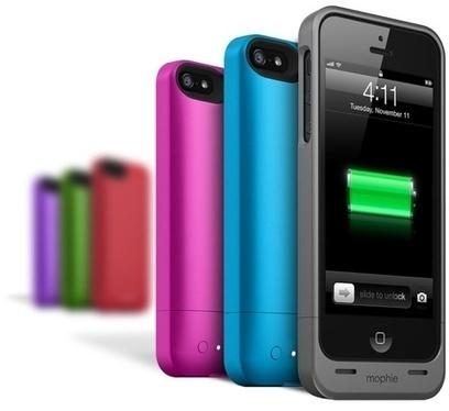 Mophie ajoute de la couleur à ses batteries | Geeks | Scoop.it