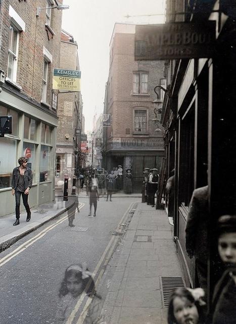 A Walk Through Time In Spitalfields - Adam Tuck | Hauntology | Scoop.it