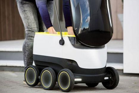 Les fondateurs de Skype développent un robot qui livre à domicile | Des robots et des drones | Scoop.it