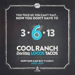 Catastrophe: Taco Bell delays launch of new 'Cool Ranch' taco //part of the #sequesteration ?? | Littlebytesnews Current Events | Scoop.it