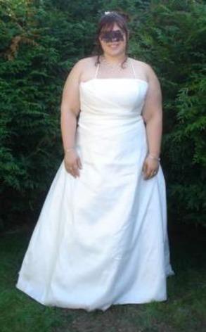 robe de marie grande taille 50 52 doccasion val doise - Point Mariage La Roche Sur Yon