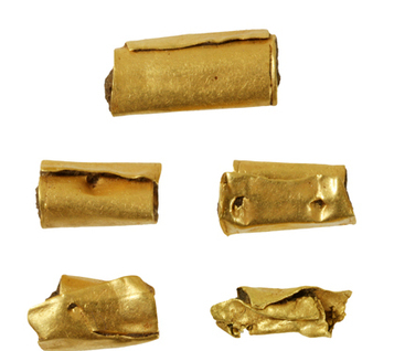 """GB : Ancient gold from 4,300-year-old woman's necklace and """"exceptional"""" Neolithic houses go on show 