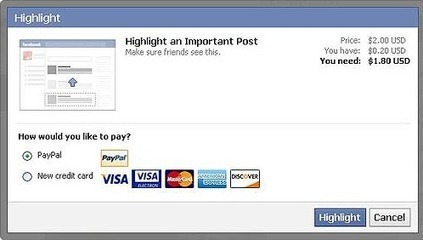 Facebook To Consider Charging Users to Highlight a Post | Social Media Today | Marketing&Advertising | Scoop.it
