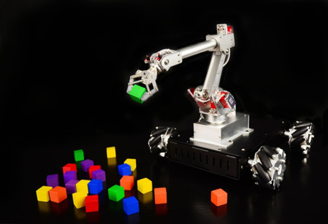 7Bot is a desktop robot arm that can see, think and learn | Atmel | Bits & Pieces | Raspberry Pi | Scoop.it