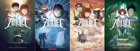 Using Graphic Novels in Education: Amulet | Comic Book Legal Defense Fund | Graphic Novels in Classrooms: Promoting Visual and Verbal LIteracy | Scoop.it