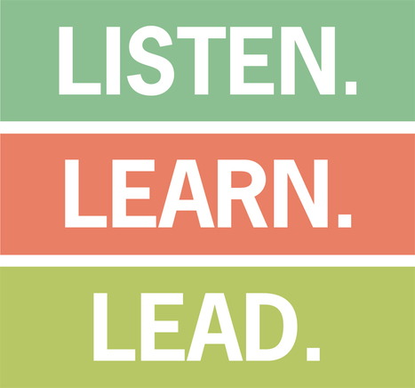5 Leadership Lessons: Listen, Learn, Lead | The Second Mile | Scoop.it