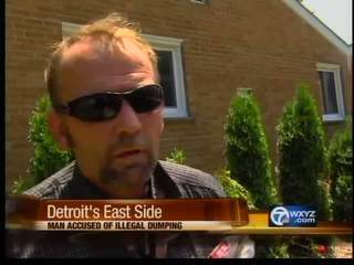 VIDEO: Caught dumping tree parts in Detroit, man says he won't take orders from women | MORONS MAKING THE NEWS | Scoop.it