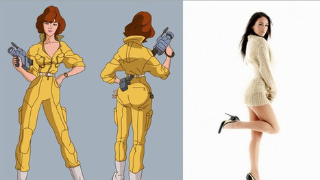 Megan Fox is your new April O'Neil | Animation News | Scoop.it