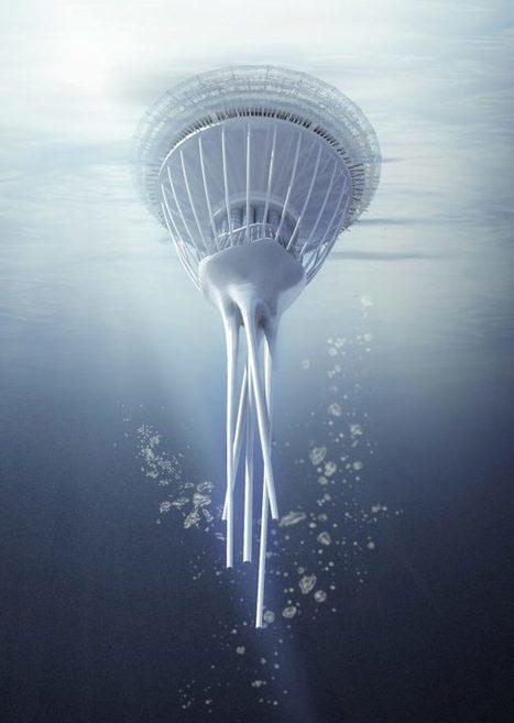 Floating Seascraper Proposed To Save The Gamma Cocoa Region In Nigeria - eVolo | Architecture Magazine | Innovative & Sustainable Building | Scoop.it
