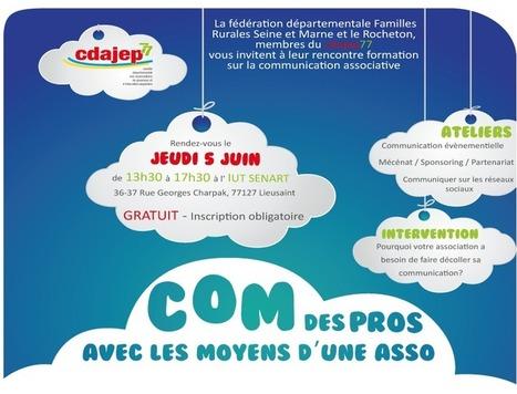 Com des pros avec les moyens d'une asso | CDAJEP 77 | Les associations, Internet, et la communication | Scoop.it