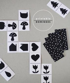 Baby the Kid!: DIY : des dominos à imprimer! | Enfant bébé maman | Scoop.it