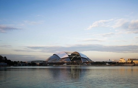 Singapore National Stadium: the World's Largest Single-Span Dome | sustainable architecture | Scoop.it