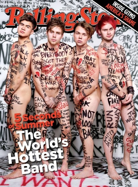 5 Seconds of Summer Go Nude for Rolling Stone, Talk Not Being a Boyband | FlexingLads | Scoop.it