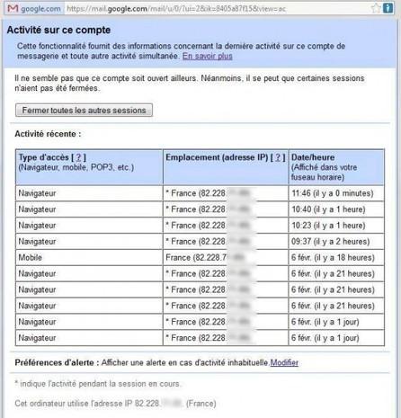 Comment savoir si quelqu'un se connecte sur votre messagerie Gmail   Time to Learn   Scoop.it