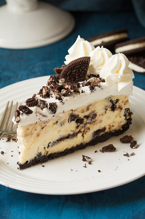 Cookies 'N Cream Cheesecake - Cooking Classy | Passion for Cooking | Scoop.it