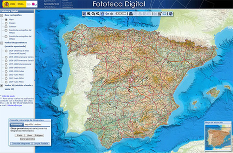 IGN España : Des ressources géographiques sur l'Espagne- Éduscol HG | Usages numériques et Histoire Géographie | Scoop.it