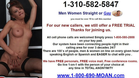 Sex offers free trial phone call with you agree