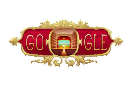 Il doodle di Google è per i 238 anni del Teatro alla Scala di Milano | InTime - Social Media Magazine | Scoop.it