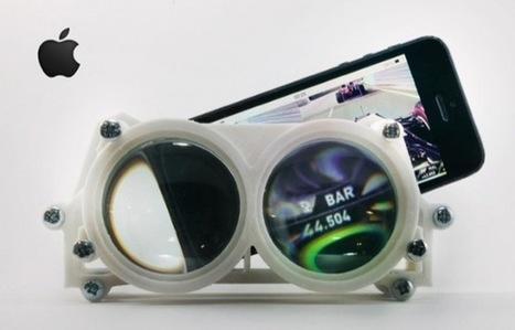 Des lunettes 3D pour iPhone et Android pour rejoindre un monde virtuel | Logicamp.org | Scoop.it