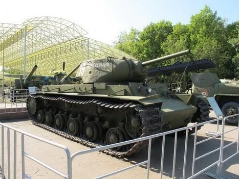 KV-1S – WalkAround | History Around the Net | Scoop.it