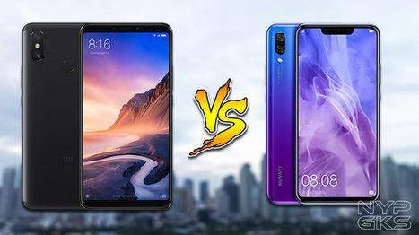 Xiaomi Mi Max 3 vs Huawei Nova 3i: Specs Compar