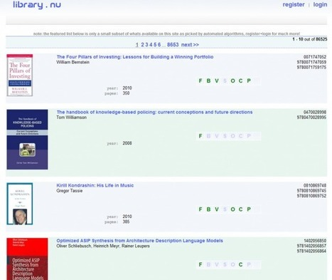 Dans les «bibliothèques clandestines» du Net - Rue89 - L'Obs | Marketing & Hôpital | Scoop.it