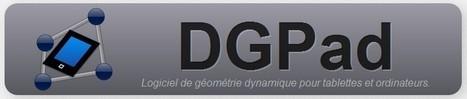 DGPad - Logiciel de géométrie en ligne à intégrer dans son ENT (ou pas)   tice   Scoop.it