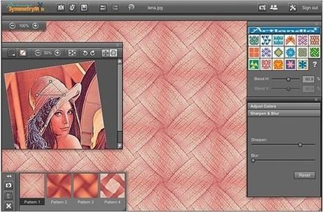 SymmetryMill: Pattern Design Tool | Digital Presentations in Education | Scoop.it