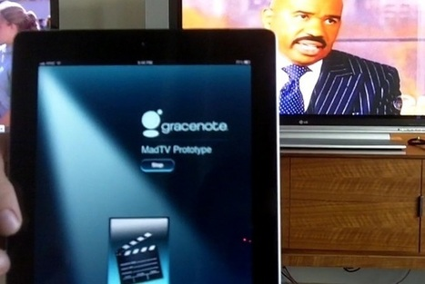 Gracenote readies its own second-screen platform at CES | Video Breakthroughs | Scoop.it