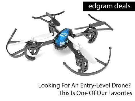 Looking For An Entry-Level Drone? This Is One Of Our Favorites - | TeachThought | Scoop.it