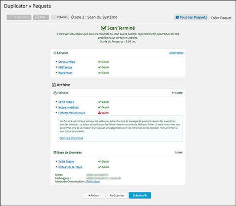 Sauvegarder son site Wordpress, mode d'emploi | Time to Learn | Scoop.it