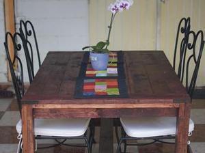 Table De Salle Manger En Bois De Palet