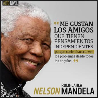 12 Frases Célebres De Mandela Para Tu Li