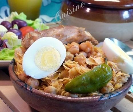 nouasser au poulet, Nwasser bidjej, cuisine tunisienne | Cuisine Algerienne, cuisine du monde | Scoop.it