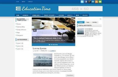 education\' in Get Free Website Templates Design   Scoop.it