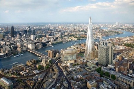 London's New Shard Skyscraper Crowned the Tallest Building in Europe! | Design Love | Scoop.it