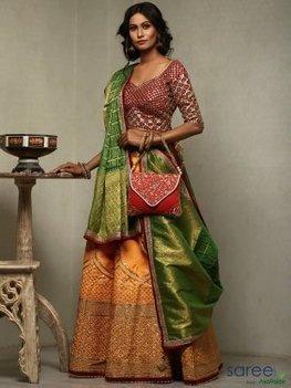629a232ad0f Silk Lehengas Sale  Buy Indian Silk Lehenga Cho...