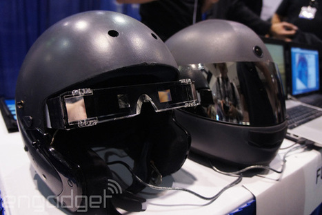 This augmented reality motorcycle helmet could save your life | 4D Pipeline - trends & breaking news in Visualization, Virtual Reality, Augmented Reality, 3D, Mobile, and CAD. | Scoop.it