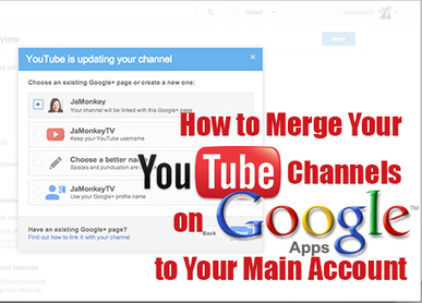 How to Merge Your YouTube Channels on Google Apps to Your Main Account | YouTube Video Marketing Tips & Tricks | Scoop.it