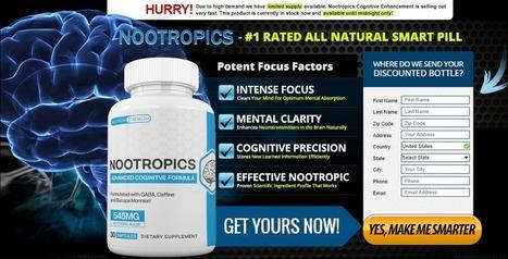 Nootropics Advanced Coginitve Formula Brain B