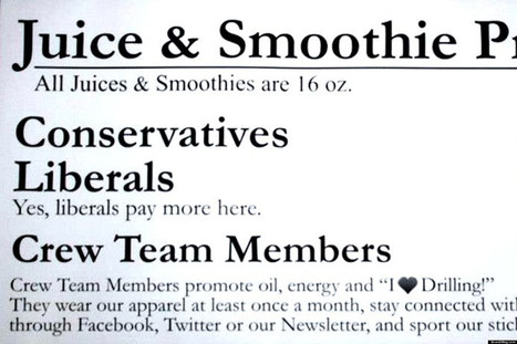 Don't Tell This Oil-Loving Smoothie Shop Owner You're A Liberal | Xposed | Scoop.it