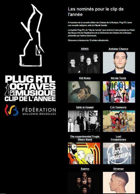 Cré Tonnerre nominé aux Octaves de la Musique (01-02-2015) - TV Lux | Cré Tonnerre | Scoop.it