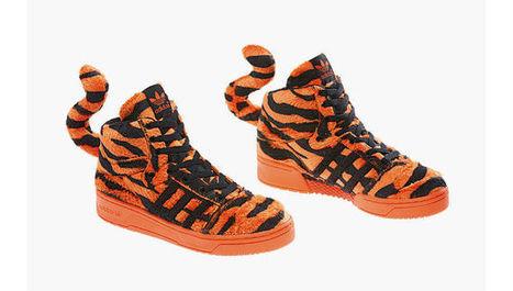 buy online 2ba6b 258e0 Adidas Originals By Kenny Scharf, Jeremy Scott Fall Winter 2014 Footwear  Collection