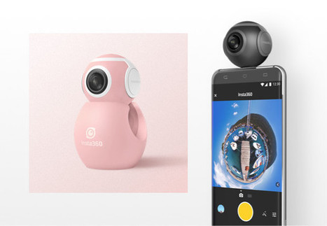 $99 Insta360 Air 360 Degrees Video Camera Works with your Android Smartphone and Laptop (Crowdfunding) | Embedded Systems News | Scoop.it