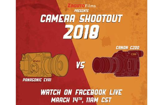 Panasonic EVA1 vs Canon C200 Camera Shootout