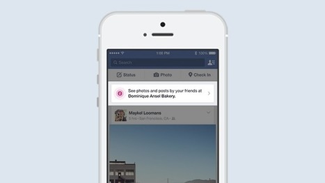 Facebook - Introducing Place Tips for Businesses | Technology in Business Today | Scoop.it