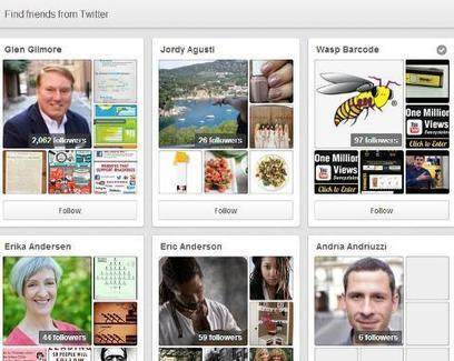 FOLLOWERS - 12 Ways to Get More Pinterest Followers | Pinterest for Business | Scoop.it