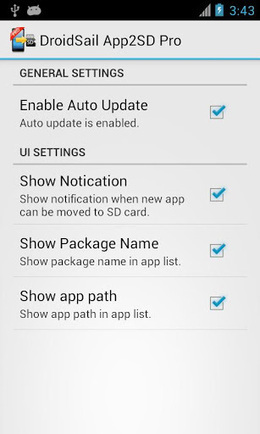 DroidSail Super App2SD PRO v6.0 | ApkLife-Android Apps Games Themes | Android Applications And Games | Scoop.it
