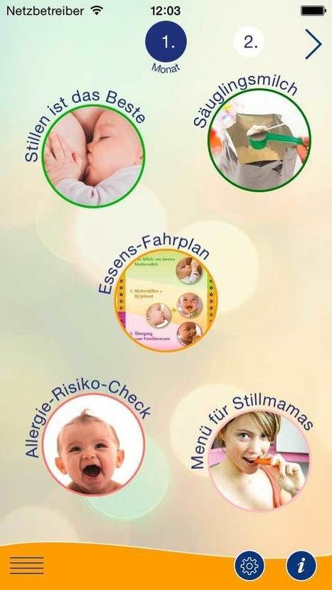 Apps für Schwangere & junge Familien   Familie Gesund Ernährt   Web-Ernaehrung   Scoop.it